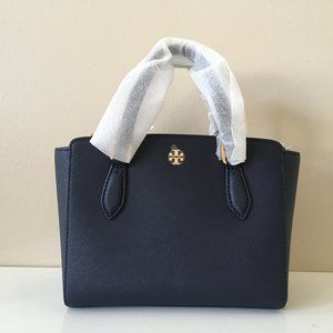 Tory Burch NWT Emerson Mini Top Zip Tote
